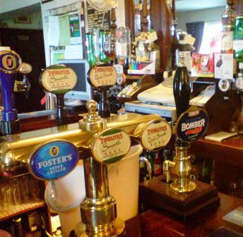 Real Ale at The Blue Bell, Newbiggin, Heads Nook